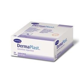Plasturi DermaPlast sensitive injection, 250 buc./cutie