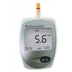Aparat Wellmed GU (glicemie si acid uric)