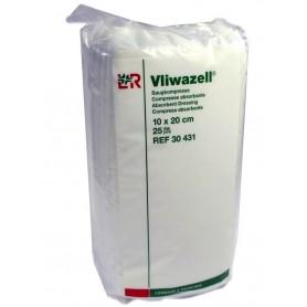 Comprese absorbante sterilizabile Vliwazell® 10x20 cm