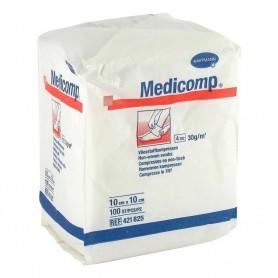 Comprese nesterile Medicomp 4 straturi 10x10cm