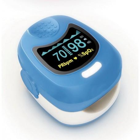Pulsoximetru pentru copii Contec MD50Q albastru