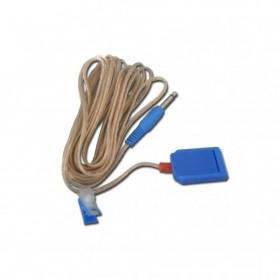 Cablu pentru electrod neutru metalic electrocauter