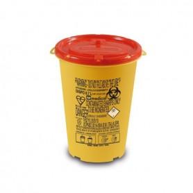 Cutie plastic pentru deseuri taioase (ace de injectie) 0,7 L