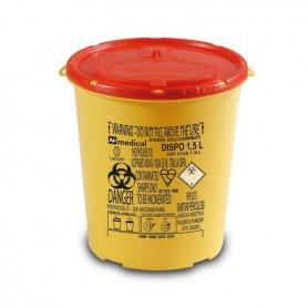 Cutie plastic pentru deseuri taioase (ace de injectie) 1,5 L