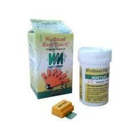 Teste acid uric Wellmed 25 buc/cutie