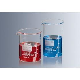 Pahar sticla termorezistent, gradat 50 ml