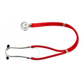 Stetoscop tubulatura dubla Rex-Rap rosu