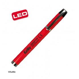 Lanterna examinare Cliplight LED, rosu