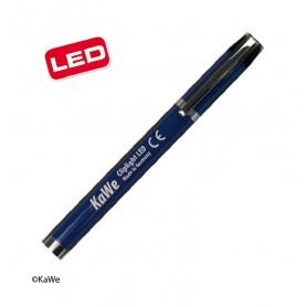 Lanterna examinare Cliplight LED, albastru