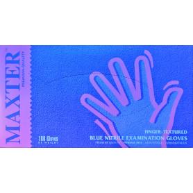 Manusi examinare nitril neapudrate Maxter cutie 100 buc. marimea XS albastre