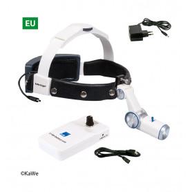 Lampa frontala KaWe HiLight LED H-800 cu acumulator pe brau