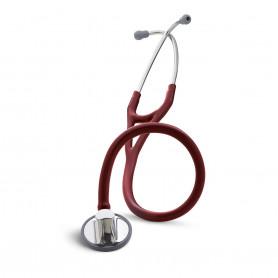 Stetoscop Littmann Master Cardiology rosu de burgundia