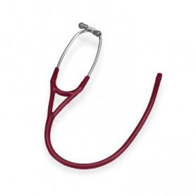 Tub Y + ecliva Stetoscoape Littmann Cardiology rosu de burgundia