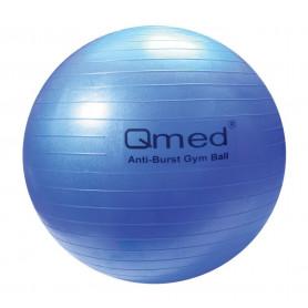 Minge gimnastica Qmed Fizioball 75 cm albastra
