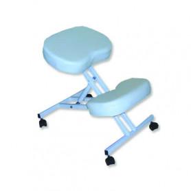 Scaun pentru masaj pozitie in genunchi Rexmobel alb