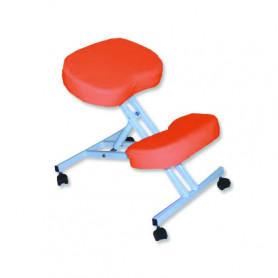 Scaun pentru masaj pozitie in genunchi Rexmobel portocaliu