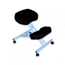Scaun pentru masaj pozitie in genunchi Rexmobel negru