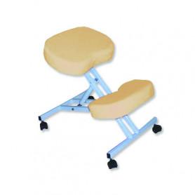 Scaun pentru masaj pozitie in genunchi Rexmobel bej
