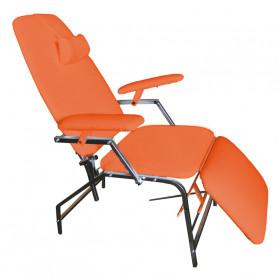 Scaun pentru recoltare sange Rexmobel portocaliu