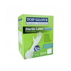 Manusi chirurgicale sterile nepudrate Top Glove 1 pereche marimea 7.5