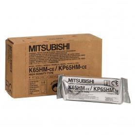Hartie Videoprinter originala Mitsubishi K65HM, 110 mm x 21 m
