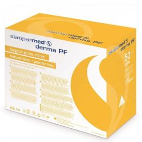 Manusi chirurgicale sterile nepudrate SEMPERMED Derma 1 pereche marimea 6,5
