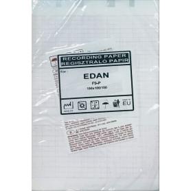 Hartie CTG Edan F2-F9P 150 mm x 100 mm x 150 pagini, rosu