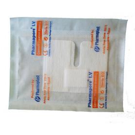 Plasturi sterile pentru fixarea branulelor 6 cm x 8cm 100 buc/cut