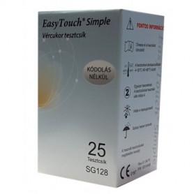 Test glicemie Wellmed Simple 25 buc/cut