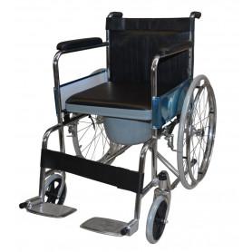 Scaun cu rotile si WC mobil JNEC-609