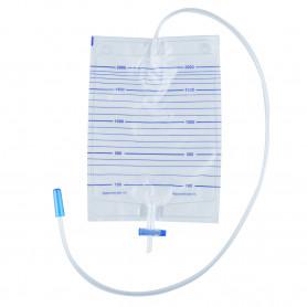 Punga urina adulti 2000ML, sterila, cu evacuare T