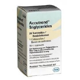 Teste trigliceride Accutrend, 25 buc/cut