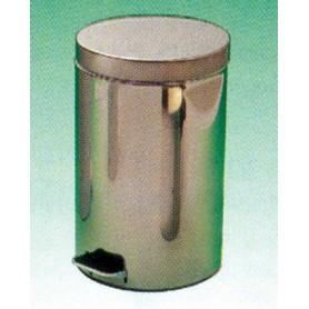 Cos de gunoi cu pedala otel inoxidabil 14 L
